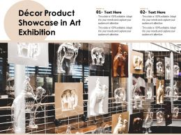 Decor Product Showcase In Art Exhibition