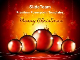 decorated_christmas_trees_powerpoint_templates_balls_background_ppt_slides_Slide01
