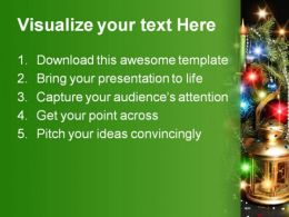 Decorations01 Christmas PowerPoint Template 0610  Presentation Themes and Graphics Slide02