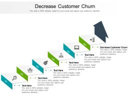 Decrease Customer Churn Ppt Powerpoint Presentation File Information Cpb