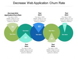 Decrease Web Application Churn Rate Ppt Powerpoint Presentation Summary Gallery Cpb