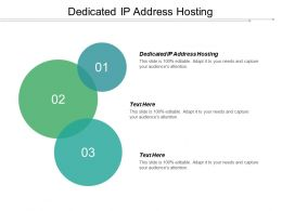 Dedicated Ip Address Hosting Ppt Powerpoint Presentation Gallery Picture Cpb