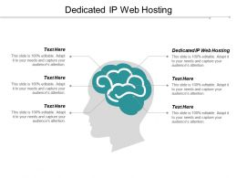 Dedicated Ip Web Hosting Ppt Powerpoint Presentation Gallery Samples Cpb