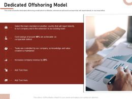 Dedicated Offshoring Model Company Revenue Ppt Presentation Professional