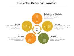 Dedicated Server Virtualization Ppt Powerpoint Presentation Slides Vector Cpb