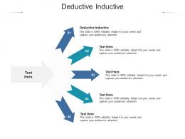 Deductive Inductive Ppt Powerpoint Presentation Icon Example Introduction Cpb