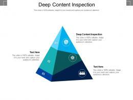 Deep Content Inspection Ppt Powerpoint Presentation Portfolio Slides Cpb