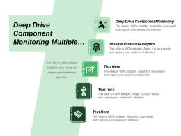 Deep Drive Component Monitoring Multiple Protocol Analytics Page Definitions