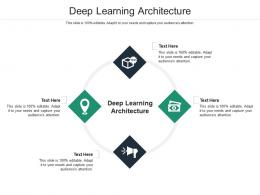 Deep Learning Architecture Ppt Powerpoint Presentation Professional Inspiration Cpb