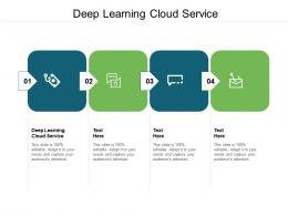 Deep Learning Cloud Service Ppt Powerpoint Presentation Outline File Formats Cpb
