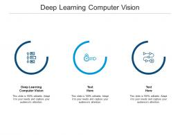 Deep Learning Computer Vision Ppt Powerpoint Presentation Styles Cpb