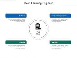 Deep Learning Engineer Ppt Powerpoint Presentation Portfolio Show Cpb