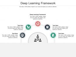 Deep Learning Framework Ppt Powerpoint Presentation Layouts Structure Cpb