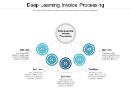 Deep Learning Invoice Processing Ppt Powerpoint Presentation Professional Information Cpb