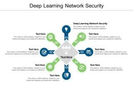 Deep Learning Network Security Ppt Powerpoint Presentation Show Display Cpb