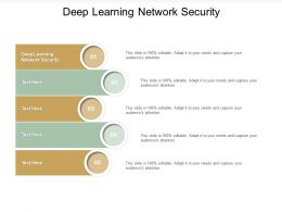 Deep Learning Network Security Ppt Powerpoint Presentation Summary Pictures Cpb