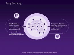 Deep Learning Networks Ppt Powerpoint Presentation Designs Download