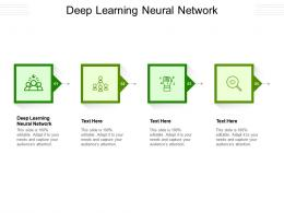 Deep Learning Neural Network Ppt Powerpoint Presentation Ideas Elements Cpb