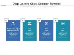 Deep Learning Object Detection Flowchart Ppt Powerpoint Presentation Ideas Inspiration Cpb