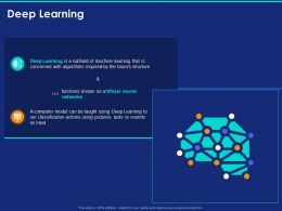 Deep Learning Ppt Powerpoint Presentation Infographic Template Slide Download
