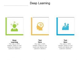 Deep Learning Ppt Powerpoint Presentation Professional Structure Cpb