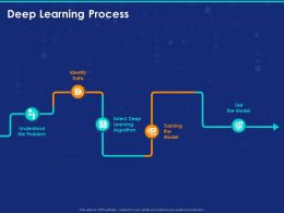 Deep Learning Process Data Ppt Powerpoint Presentation Professional Summary