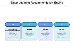 Deep Learning Recommendation Engine Ppt Powerpoint Presentation Layouts Summary Cpb