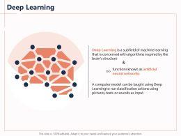 Deep Learning Run Classification Ppt Powerpoint Presentation Templates