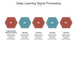 Deep Learning Signal Processing Ppt Powerpoint Presentation Professional Outfit Cpb