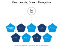 Deep Learning Speech Recognition Ppt Powerpoint Presentation Layouts File Cpb