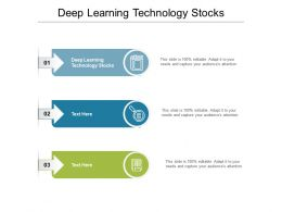 Deep Learning Technology Stocks Ppt Powerpoint Infographics Graphic Tips Cpb