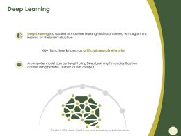Deep Learning Using Pictures Ppt Powerpoint Presentation Infographic Template Summary