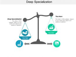 Deep Specialization Ppt Powerpoint Presentation Layouts Structure Cpb