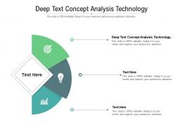 Deep Text Concept Analysis Technology Ppt Powerpoint Presentation Professional Information Cpb