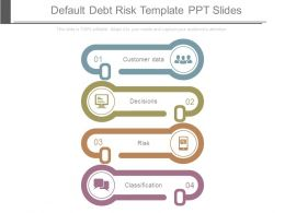 Default Debt Risk Template Ppt Slides
