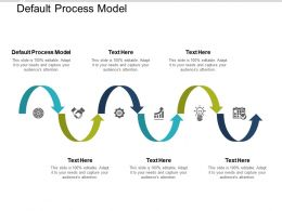 Default Process Model Ppt Powerpoint Presentation Professional Show Cpb