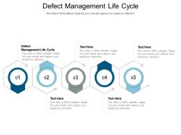 Defect Management Life Cycle Ppt Powerpoint Presentation Model Templates Cpb