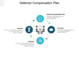 Deferred Compensation Plan Ppt Powerpoint Presentation File Example Cpb