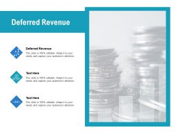 Deferred Revenue Ppt Powerpoint Presentation Gallery Backgrounds Cpb
