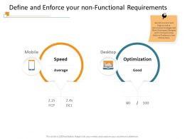 Define And Enforce Your Non Functional Requirements DCL Ppt Powerpoint Presentation Show