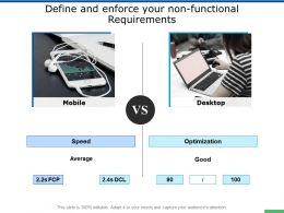 Define And Enforce Your Non Functional Requirements Servers Ppt Presentation Slides