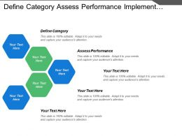 Define Category Assess Performance Implement Plan Portfolio Analysis