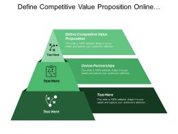 Define Competitive Value Proposition Online Partnerships Affiliate Marketing