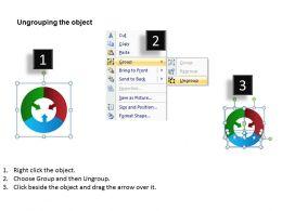 define contributing factors powerpoint diagrams presentation slides graphics 0912
