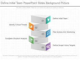 Define Initial Team Powerpoint Slides Background Picture