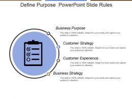 Define Purpose Powerpoint Slide Rules