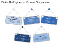 Define Re Engineered Process Comparative Analysis Business Case Implementation Plan