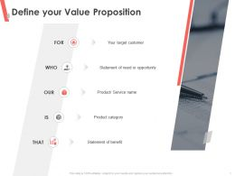 Define Your Value Proposition Service Name Ppt Powerpoint Presentation Slides Example