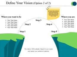 Define Your Vision Ppt Example File
