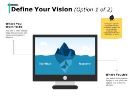 Define Your Vision Ppt Show Background Designs